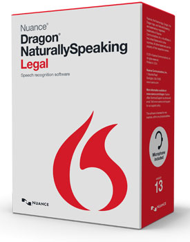 Dragon NaturallySpeaking Legal Version 12