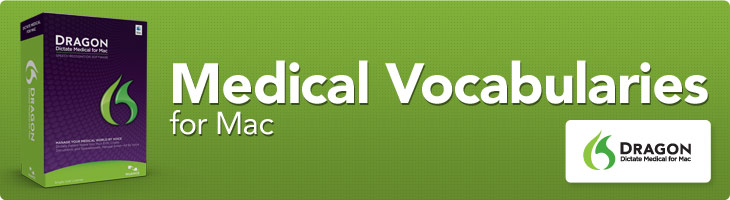 Medical Vocabularies for Mac