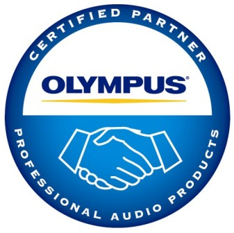 Olympus Professional Audio Products Certified Partner
